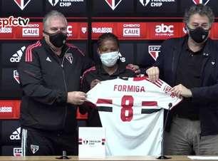 Com projeto para o pós-carreira, Formiga é apresentada como novo reforço do São Paulo