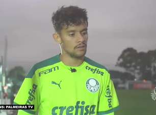 """PALMEIRAS: Scarpa pede atenção redobrada para confronto contra o Bragantino: """"Um time muito difícil"""""""