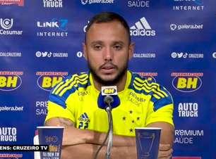 """CRUZEIRO: Felipe Augusto minimiza derrota para o Operário e exalta empenho da equipe nos jogos recentes: """"Se seguirmos assim, as vitórias virão naturalmente"""""""