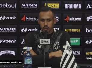 CEARÁ: Lima vê 'volta da confiança' da equipe após empate com o Internacional, aponta evolução da equipe e se mostra confiante na vitória contra o Atlético-MG