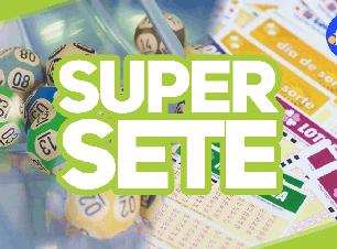 Acumulou! Super Sete vai pagar R$ 3.100.000 no concurso de quarta-feira (23)