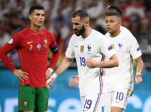 Ronaldo faz 2 e Portugal empata com a França; Alemanha passa