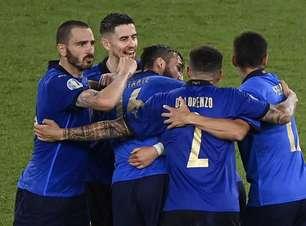 Itália fará reunião para decidir se ajoelhará contra racismo