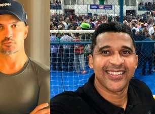 """Falcão rebate Manoel Tobias e diz: """"Sou o melhor do futsal"""""""