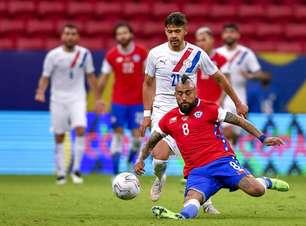 Paraguai derrota o Chile e sobe na tabela da Copa América
