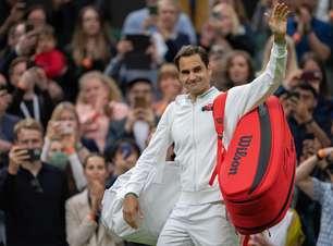 Federer leva susto na estreia, mas vence após rival desistir