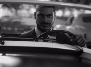 Criolo incorpora personagens de Fellini em clipe homônimo feito em 3D