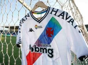 Vasco anuncia início ao leilão de camisas em homenagem à causa LGBTQIA+