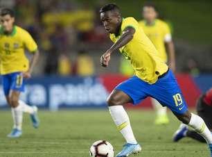 CBF pede liberação de Vinícius Jr ao Real para a Olimpíada
