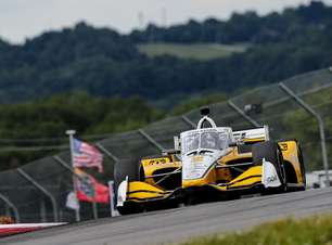 Newgarden vence duelo acirrado com Herta e crava pole do GP de Mid-Ohio. Palou é 7º
