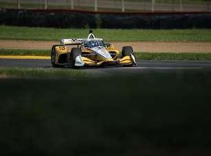 Newgarden domina classificação e é pole da Indy em Mid-Ohio