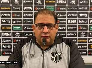 """CEARÁ: Guto Ferreira avalia vitória sobre o Juventude: """"Conquistamos mais três pontos e subimos na tabela"""""""