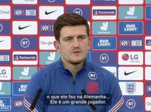 Maguire comenta chegada de Sancho no Manchester United: 'Talento excepcional'; veja o vídeo