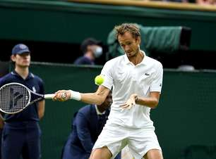 Número 2 do mundo é eliminado nas oitavas em Wimbledon