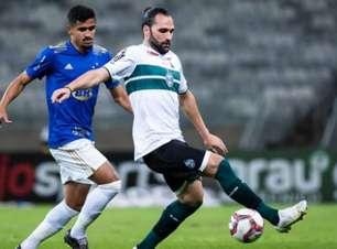 Em duelo sem muitas emoções, Cruzeiro e Coritiba ficam empatados no Mineirão