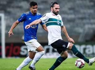 Empate contra o Cruzeiro quebrou sequência positiva do Coritiba