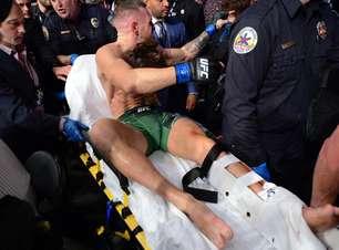 McGregor sofre grave lesão, e Poirier vence luta no UFC 264