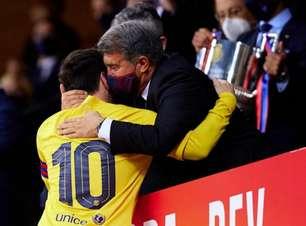Presidente diz que Barcelona está perto de renovar com Messi