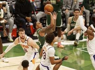 Milwaukee Bucks freia arrancada do Suns