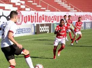 Na Série B, Vila Nova e Brasil de Pelotas fazem jogo de poucas chances e apenas empatam