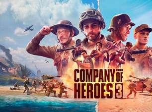 Company of Heroes 3 chega em 2022 para PC