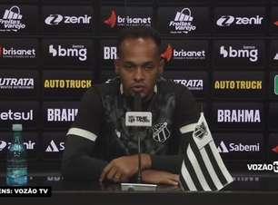 """CEARÁ: Bruno Pacheco acredita em evolução da equipe no Brasileiro e avalia começo de campanha na Série A: """"Nunca estamos satisfeitos"""