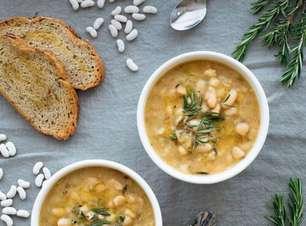 Sopa de Feijão Branco: Receita Fácil para se Aquecer no Inverno