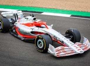 F1 apresenta novo visual de carro para a temporada de 2022
