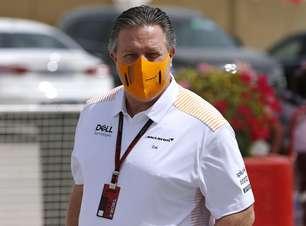 Chefe da McLaren é confirmado com covid antes de GP inglês