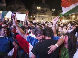 Mais de 90 contraem covid após jogo da Itália na Eurocopa