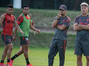 Flamengo volta aos treinos e tem retornos de Arão e Diego