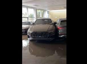 Alemanha: enchente destrói concessionária de luxo; veja