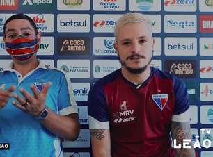 """FORTALEZA: Lucas Crispim se vê no seu melhor momento com a camisa do clube e comemora: """"Estou feliz com a minha fase e a do clube no Brasileiro"""""""