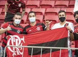 VP do Flamengo agradece presença da torcida em 'jogo laboratório' em Brasília: 'Reencontro especial'