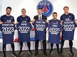 PSG renova com Mauricio Pochettino até 2023