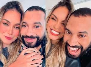 """Gil do Vigor e Sarah Andrade se encontram e preparam """"surpresa"""""""