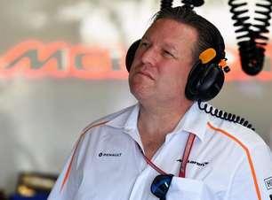 """McLaren assume que túnel de vento está """"defasado"""" e projeta melhora até 2024"""