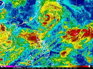 Tempestade Tropical Nepartak atinge o Japão semana que vem