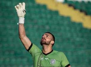 Figueirense está perto de se tornar o clube mais vezes defendido pelo goleiro Rodolfo Castro