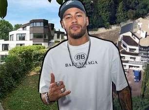 Detalhes da mansão francesa de Neymar invadida duas vezes