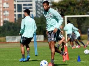Caio Paulista faz exame, tem lesão no músculo adutor da coxa direita e vai desfalcar o Fluminense