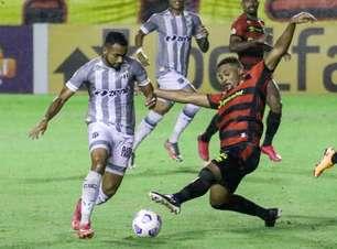 Sport empata com Ceará e põe São Paulo na zona de descenso
