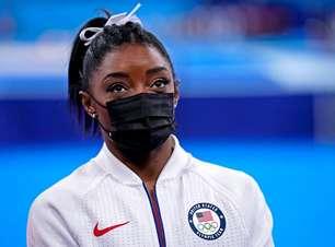 Simone Biles desiste de mais uma final nos Jogos Olímpicos