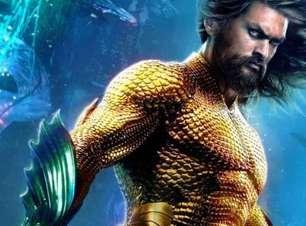 Jason Momoa comemora Aquaman 2 e exibe tatuagens do herói