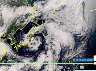 Tempestade Nepartak deixa Japão em alerta