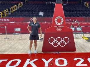Brasileira é a 1ª mulher a apitar basquete na Olimpíada