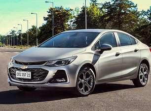 Chevrolet Cruze estreia linha 2022 antes de edição especial