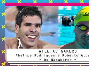 Nadadores paralímpicos usam games para focar na piscina