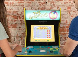 Fliperama de Os Simpsons ganha nova versão compacta após 30 anos