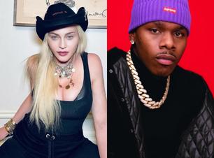 Madonna rebate falas homofóbicas e sorofóbicas do rapper DaBaby